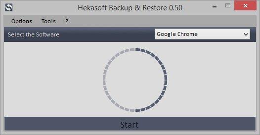 Hekasoft Backup & Restore 0.72