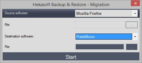 Hekasoft Backup & Restore 0 85 | Free Browser Backup Software